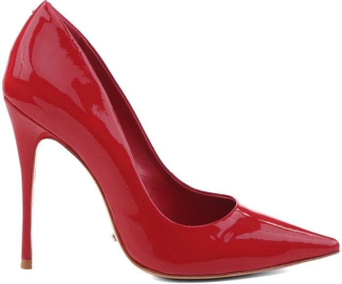 Schutz Red Court Shoes