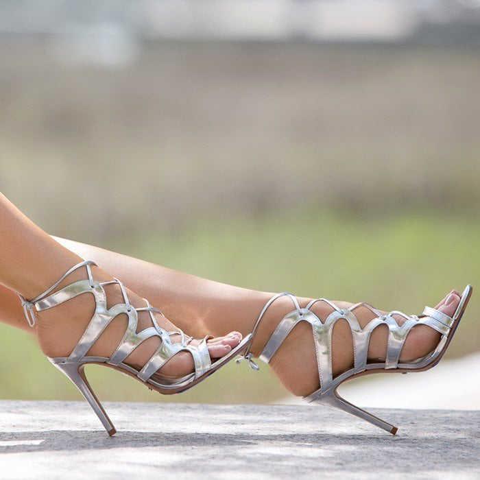 77a6bf4a5471 Dance the Night Away in Sexy Lace-Up Dubiana Sandals