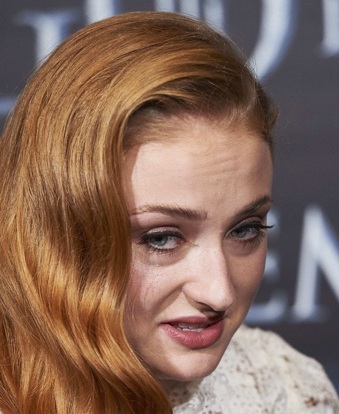 Sophie Turner attends 'Game Of Thrones' fan event