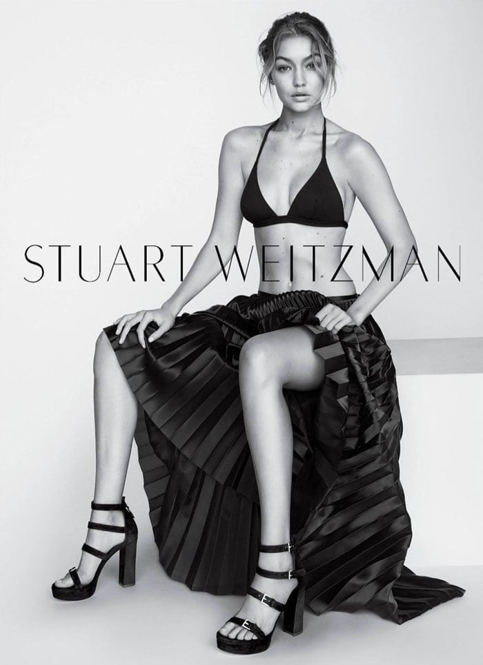 Stuart Weitzman Fourbucks