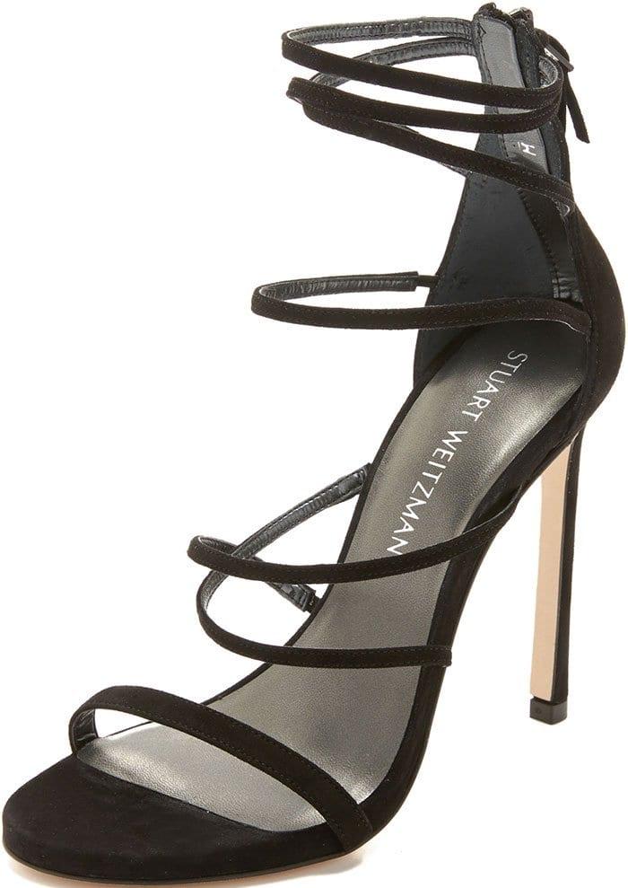 Stuart-Weitzman-Myex-Sandals-Black-Suede