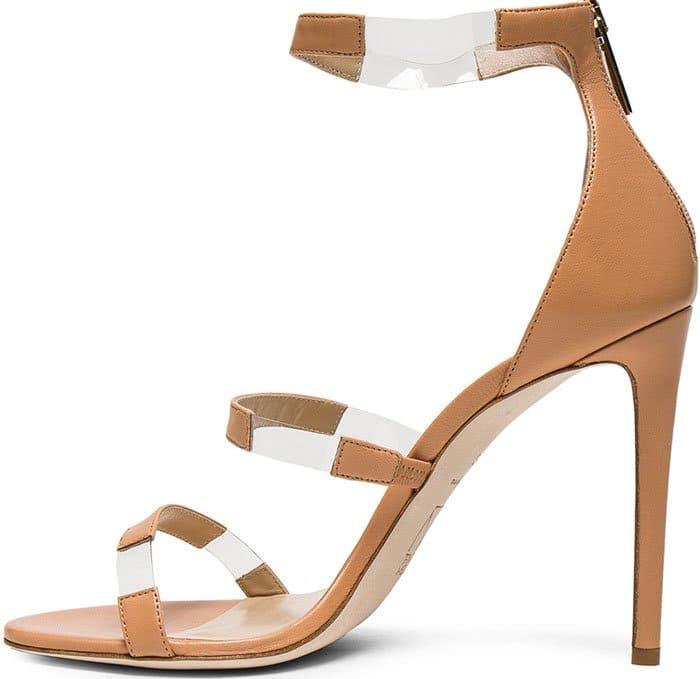 Tamara Mellon Leather 'Frontline' Heels