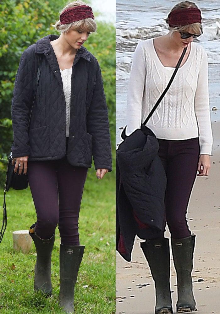 Taylor Swift Tom Hiddleston Mom Le Chameau 2