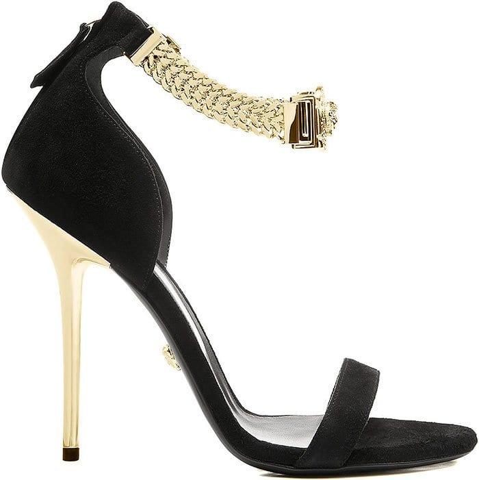 Versace-chain-strap-sandals
