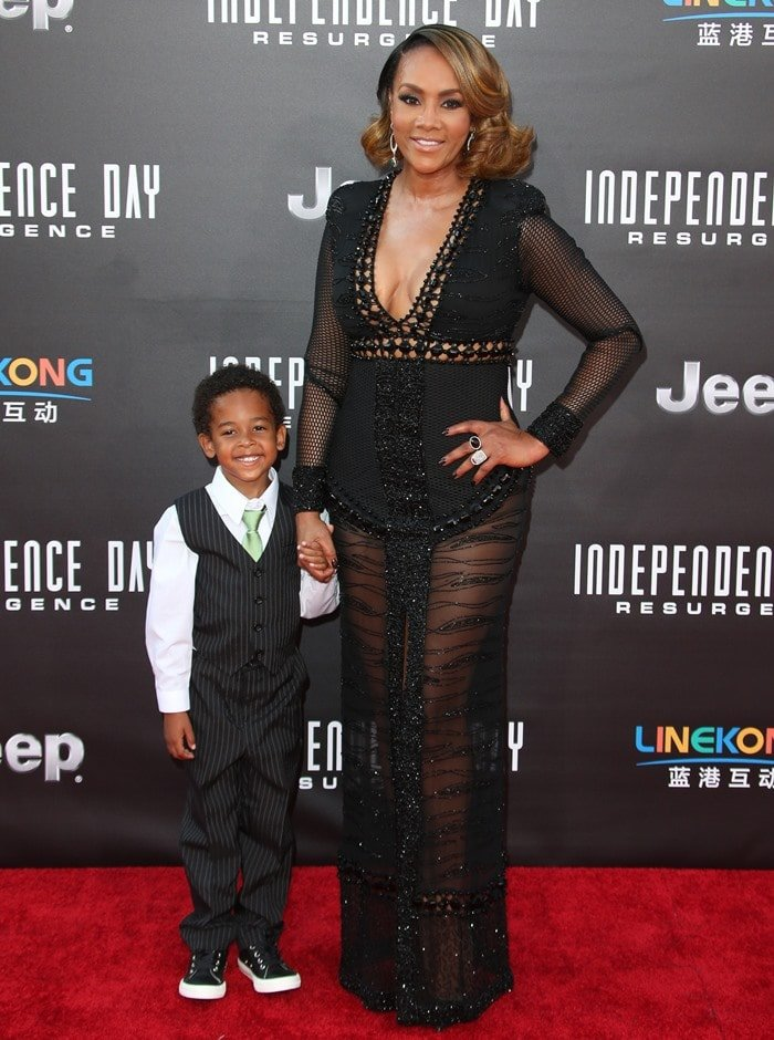 Premiere of 20th Century Fox's 'Independence Day: Resurgence' - Arrivals Featuring: Vivica A. Fox Where: Los Angeles, California, United States When: 20 Jun 2016 Credit: FayesVision/WENN.com