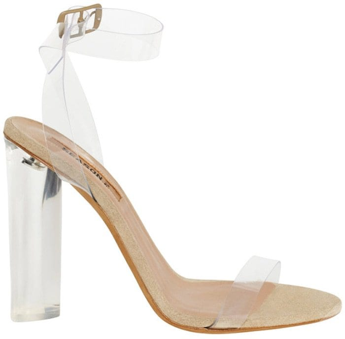 Yeezy Season 2 Lucite Sandals