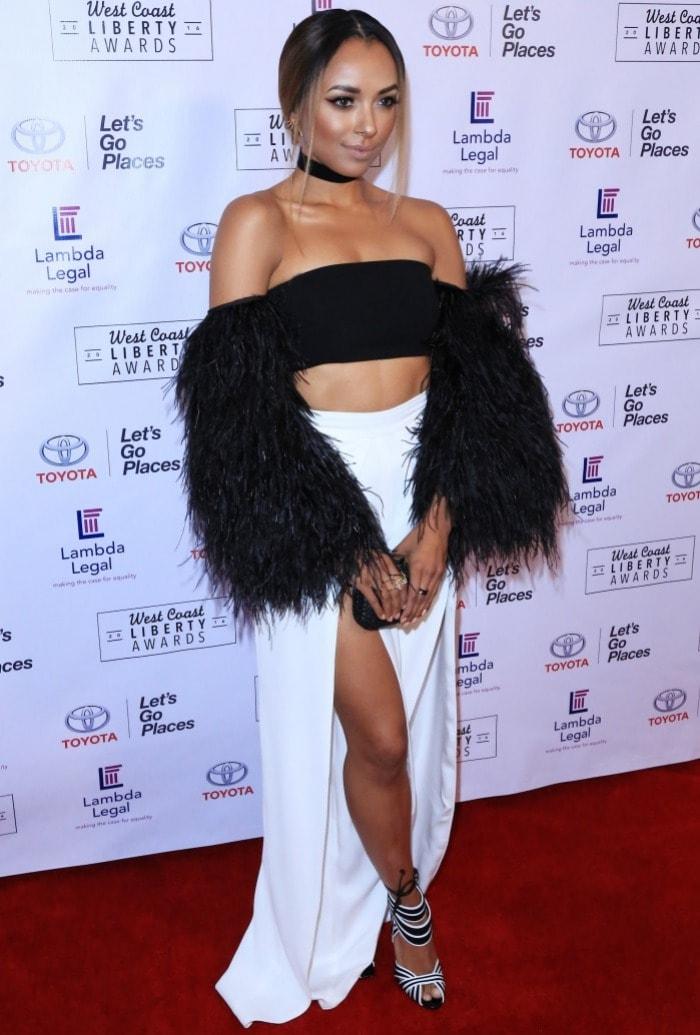 kat graham lambda legal awards gala