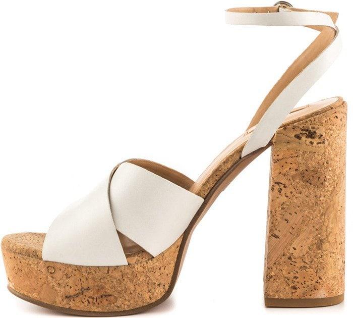 ALDO Rivalgo White Sandals