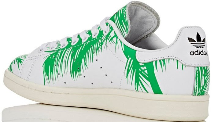 7289787bd Pharrell x BBX Launch Adidas  Stan Smith  Palm Tree Sneakers