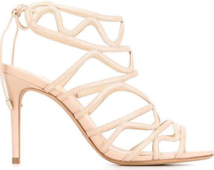 Alexandre Birman Nim Nude Leather
