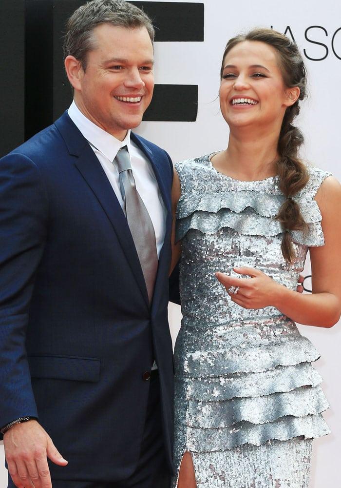 Alicia Vikander Jason Bourne London Louis Vuitton 4