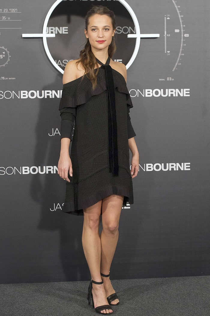 Alicia-Vikander-Jason-Bourne-Madrid-photo-call