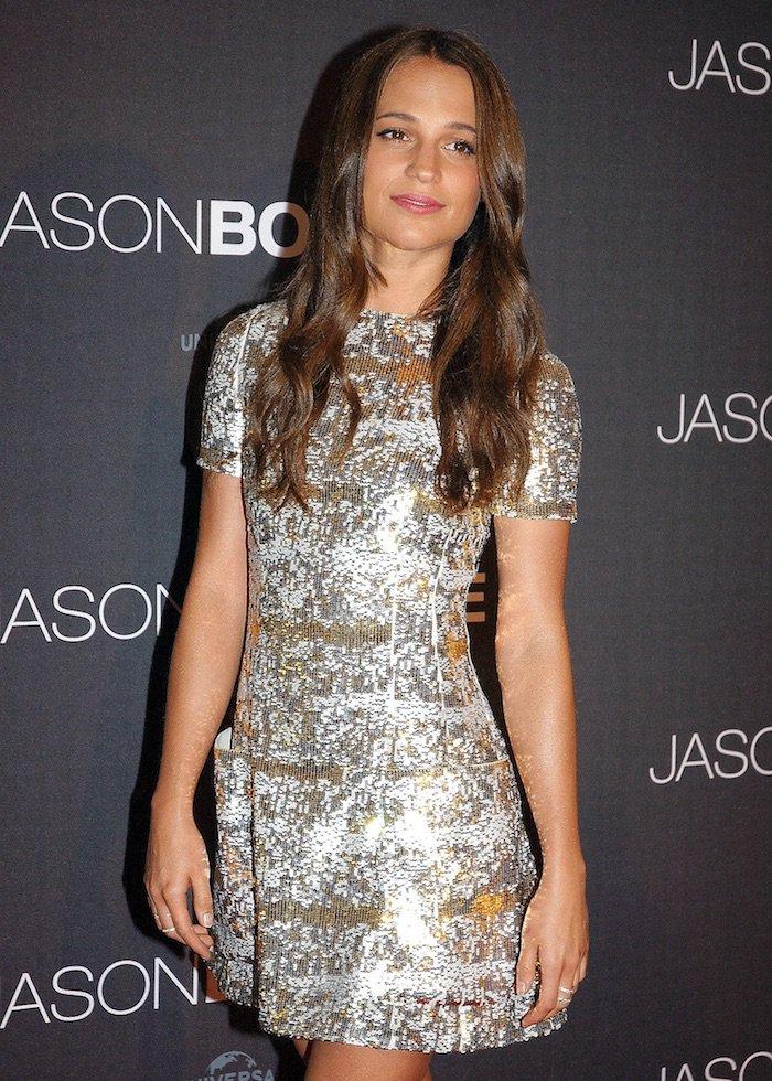 Alicia Vikander Jason Bourne Paris Premiere1