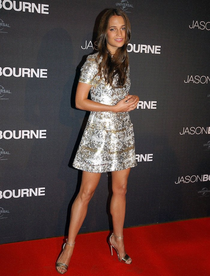 Alicia Vikander Jason Bourne Paris Premiere2