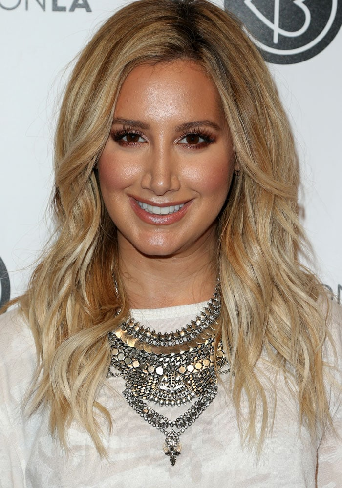 Ashley Tisdale BeautyCon LA Givenchy 1