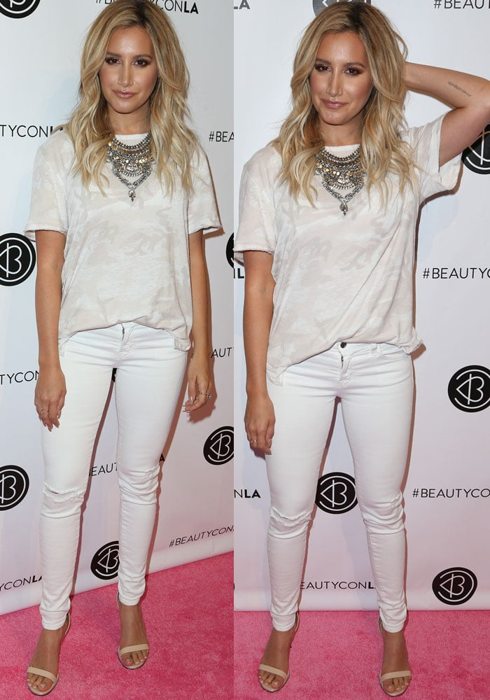 Ashley Tisdale BeautyCon LA Givenchy 2