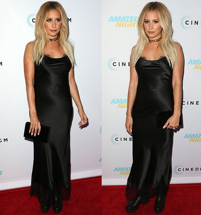 Ashley-Tisdale-curves-black-dress