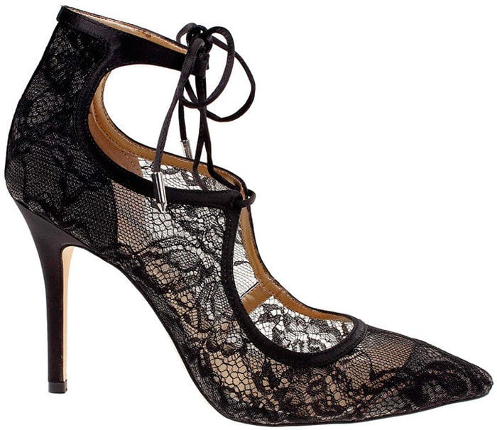 """Belle by Badgley Mischka """"Brye"""" Lace-Up Pumps"""