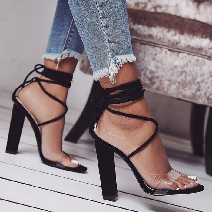 276122ececd Carrson Block Heel Sandals by Steve Madden With Ankle Strap