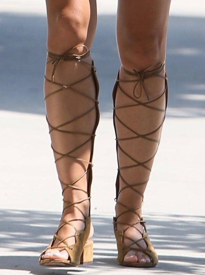 Cara-Santana-Saint-Laurent-Babies-Knee-High-Gladiator-Sandals-1