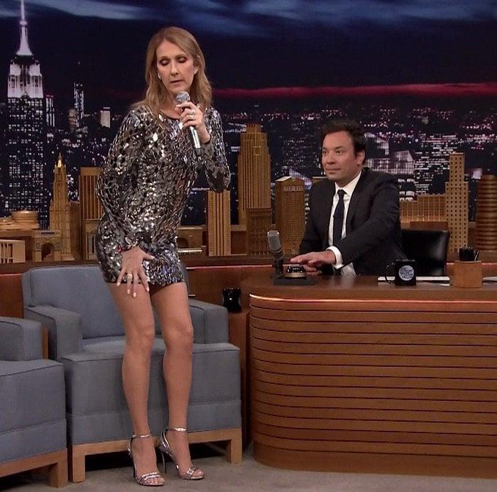 Celine Dion Tonight Show1