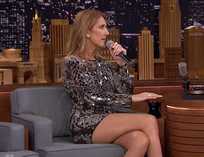 Celine Dion Tonight Show2