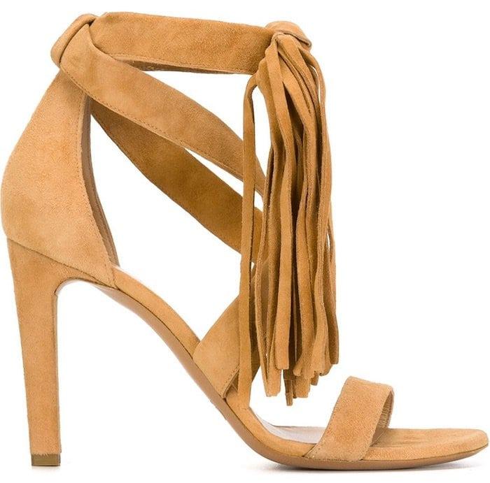 Chloe Fringed Sandals1