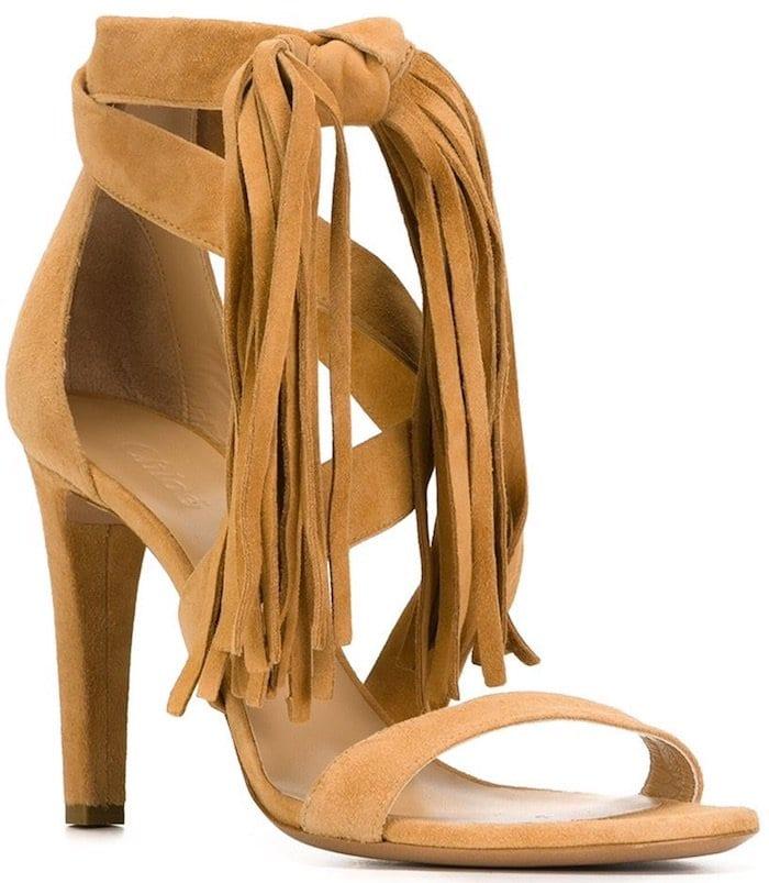 Chloe Fringed Sandals2