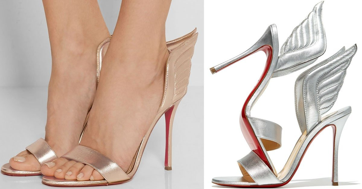 8699982898f Fly Away in Christian Louboutin 'Samotresse' Sandals