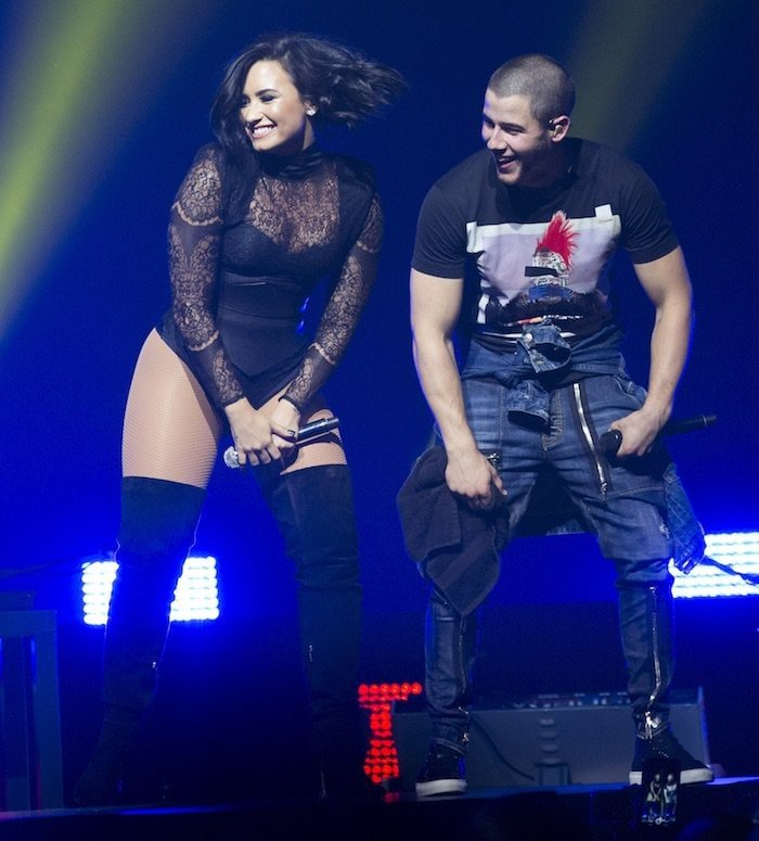 Demi Lovato and Nick Jonas have been killing it on their Future Now Tour together