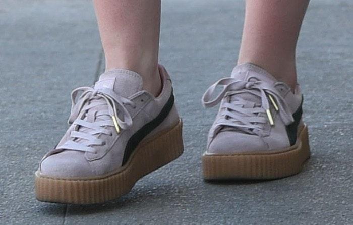 Elle Fanning Studio City shoes
