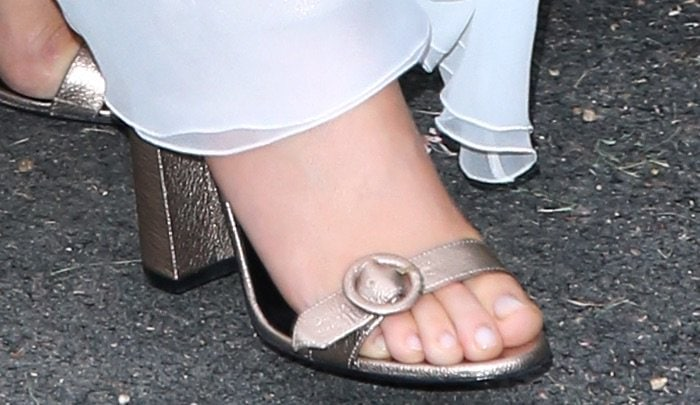 Ellie Goulding Serpentine Summer Party shoes