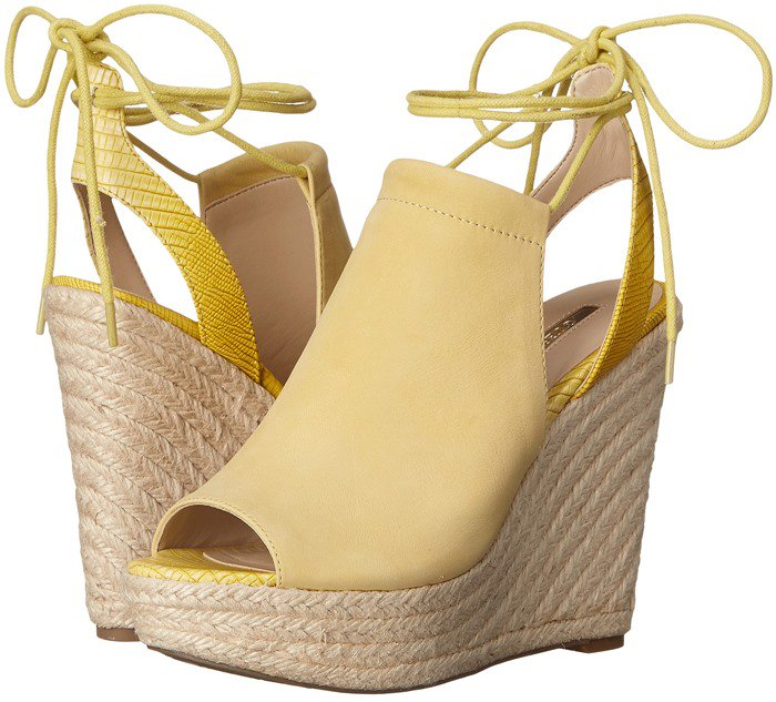 GUESS Orristi Yellow Suede