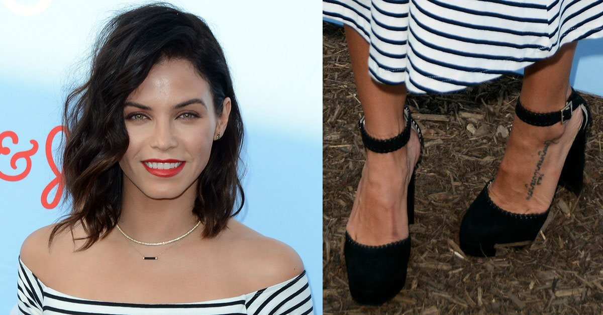 Jenna Dewan Tatum In Jimmy Choo Daphne Pumps