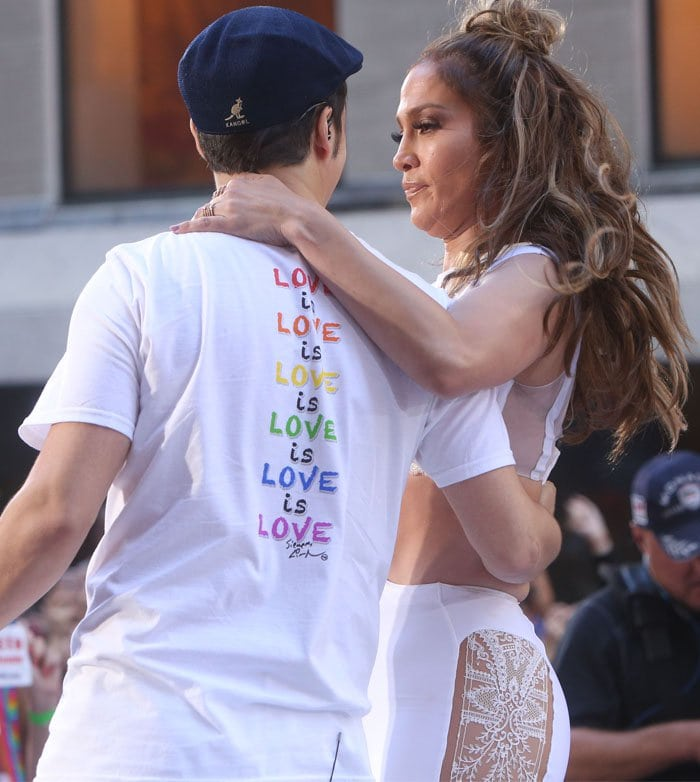 Jennifer Lopez and Lin-Manuel Miranda team up with 'Love Makes The World Go Round' to honor the victims of the Orlando shooting