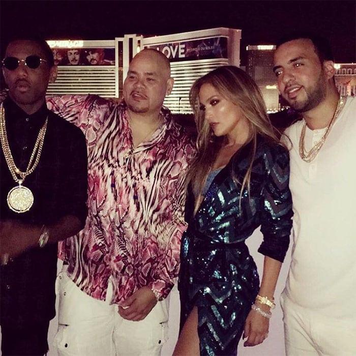 Jennifer Lopez birthday French Montana Fat Joe