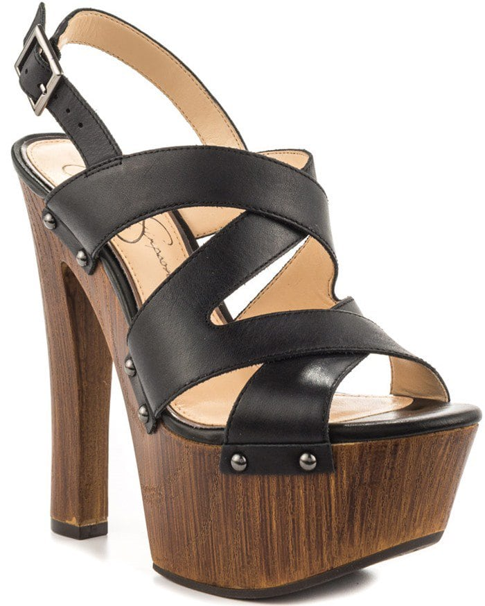 Jessica Simpson 'Damelo' Platform Sandals