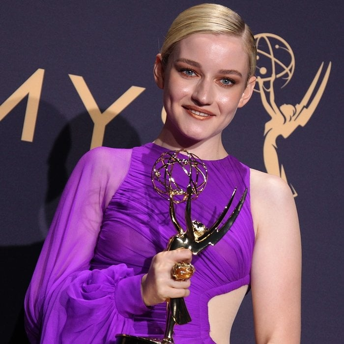 For her performance as Ruth Langmore in the American crime drama streaming television series Ozark, Julia Garner won twice consecutively at the Emmy Awards for Outstanding Supporting Actress in a Drama Series in 2019 and 2020