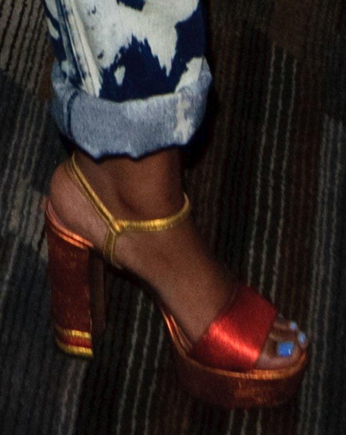 KeKe-Palmer-Bally-Clarine-Platform-Sandals