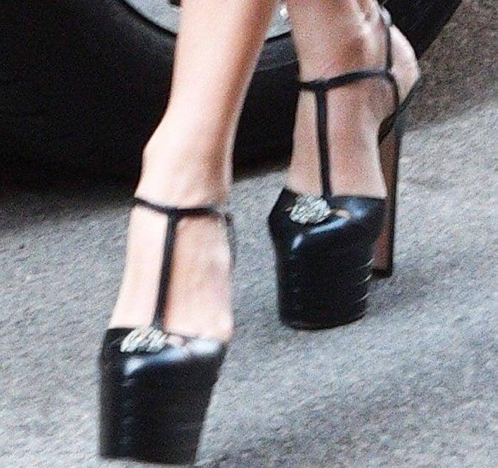 Margot Robbie Hotel Manhattan Gucci 2
