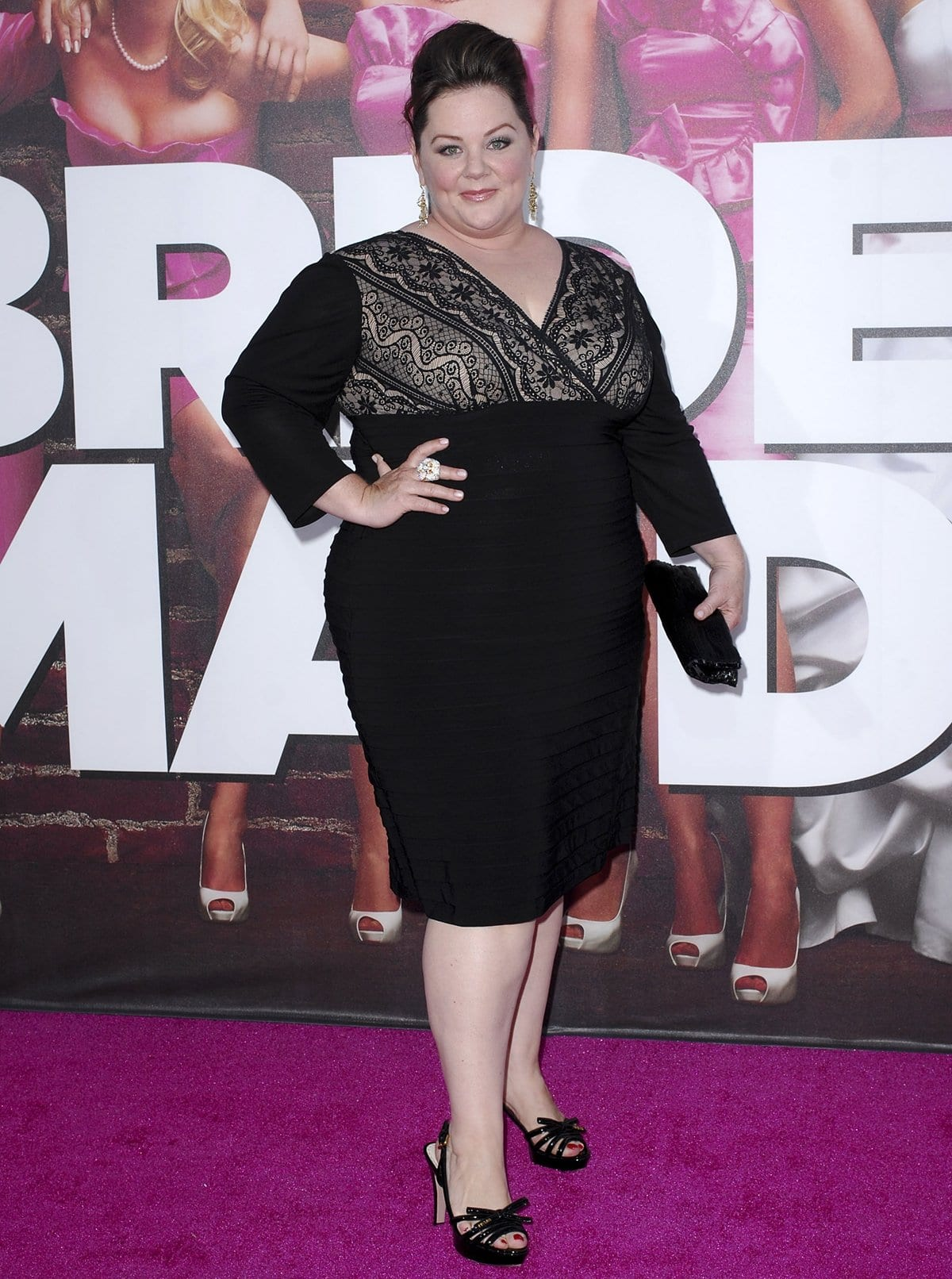 Melissa McCarthy was repeatedly advised to lose weight if she ever wanted to find success in Hollywood