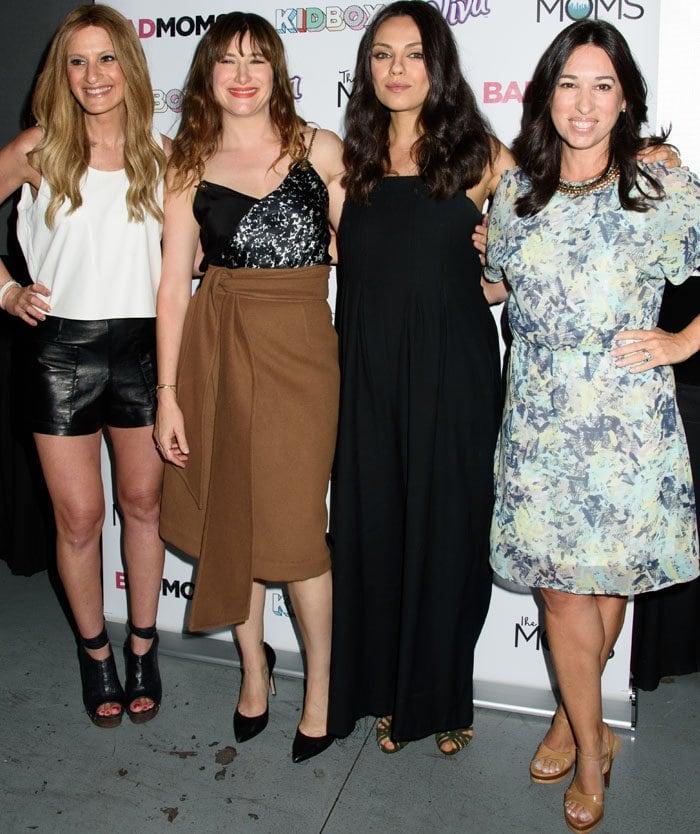 Mila Kunis Bad Moms Mamarazzi Sarah Flint 4