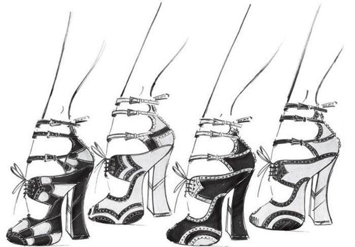 Miu Miu Rebel Heart Shoes