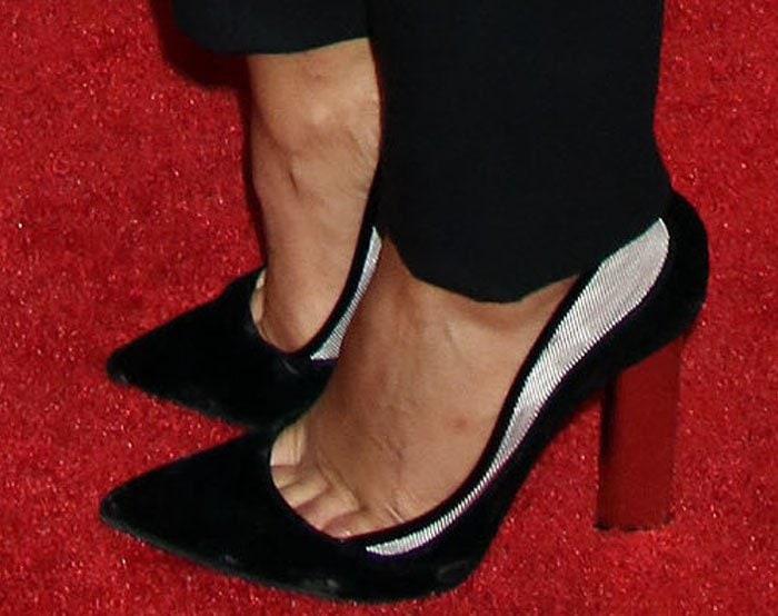 Mya Coach Woodson Prism Heels 2