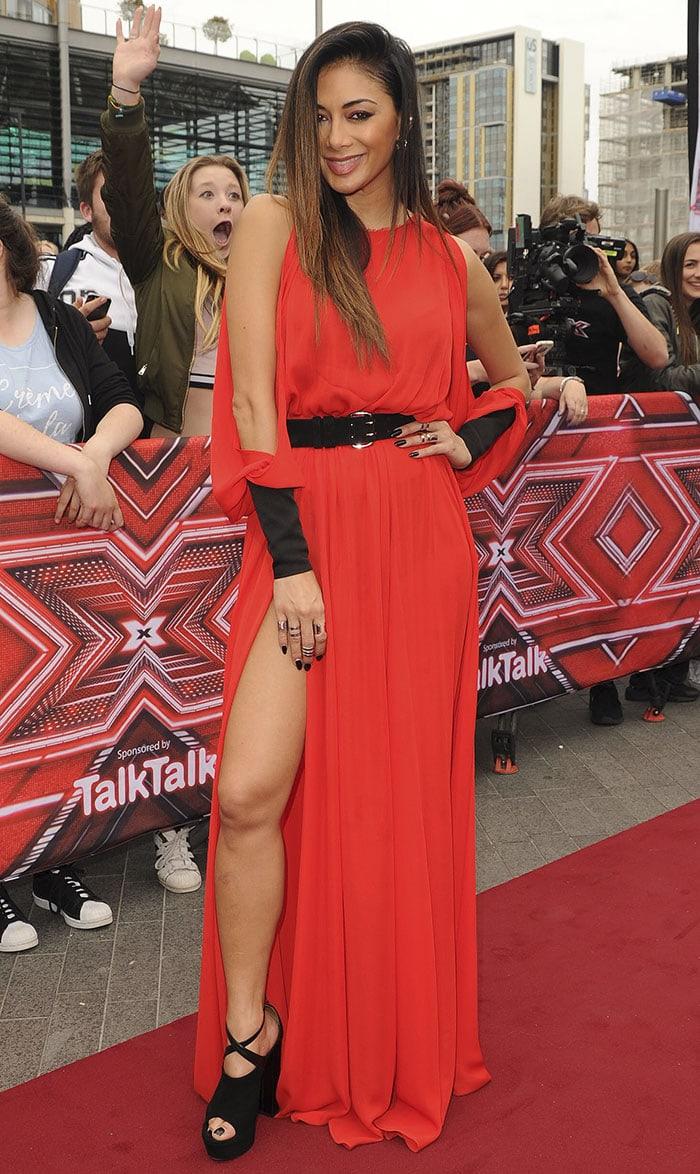 Nicole-Scherzinger-X-factor-Judges-Wembley-Arena