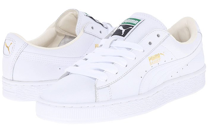 PUMA Basket women's sneakers white