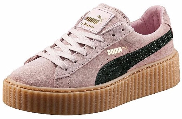Puma by Rihanna Coral and Green Creepers