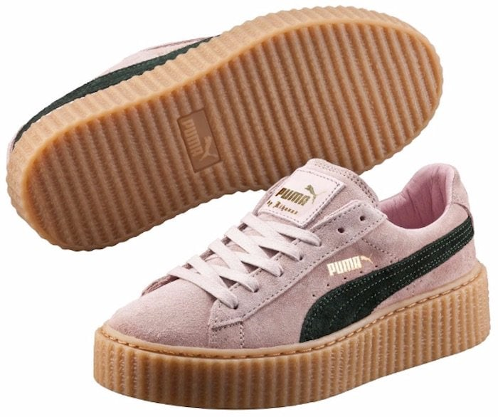 Puma by Rihanna Coral and Green Creepers2