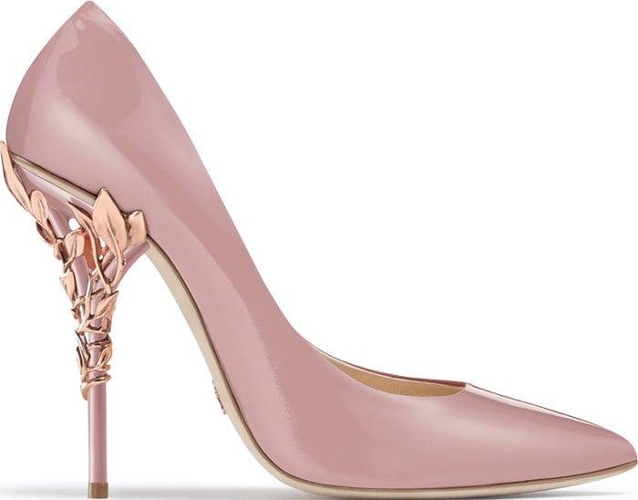 Ralph & Russo Eden pumps pink patent