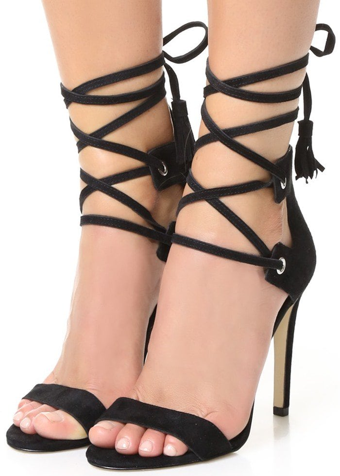 Rebecca Minkoff Riley Lace Up Sandals